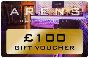 Arens Bar £100 Gift Voucher