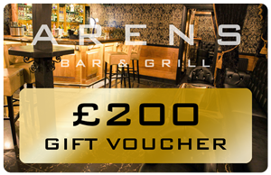 Arens Bar £200 Gift Voucher