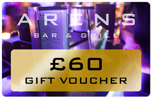 Arens Bar £60 Gift Voucher