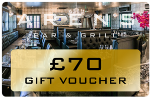 Arens Bar £70 Gift Voucher