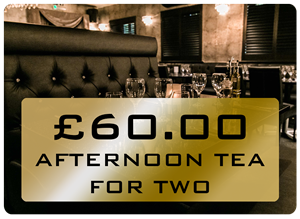 Arens Bar Tea for 2 Gift Voucher